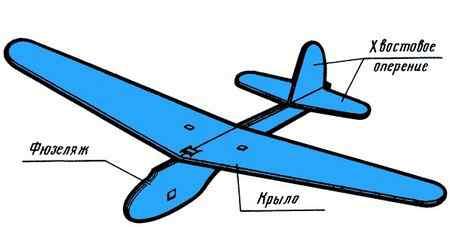 Самолет из потолочной плитки своими руками