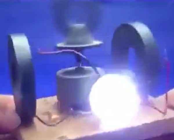 Вечный фонарь из советских магнитов своими руками