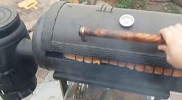 Варианты изготовления мангала из газовых баллонов