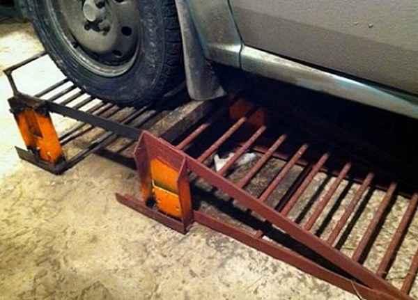 Самодельный подъёмник для гаража