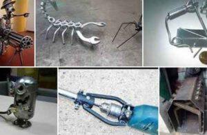 Самоделки из металла - что можно сделать своими руками