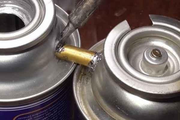 Бензиновая горелка для пайки и литья алюминия своими руками