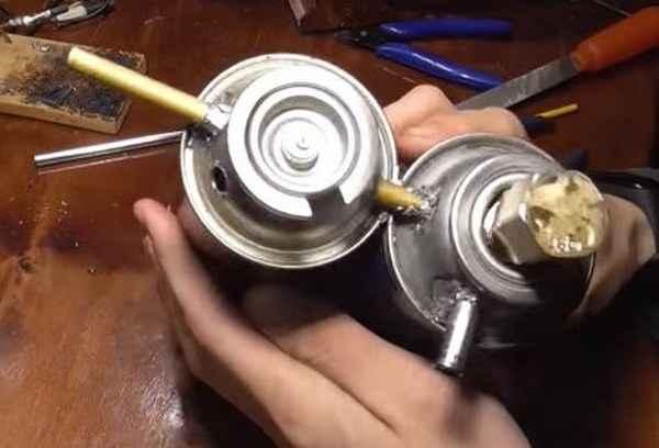 Как собрать бензиновый генератор для пайки алюминия