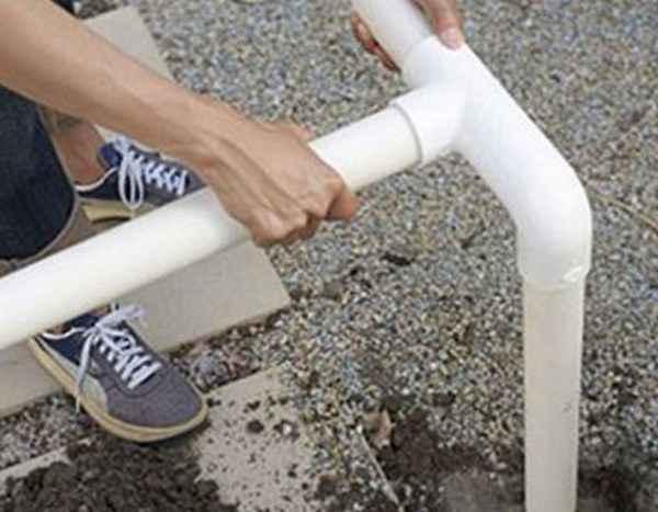Поэтапное строительство беседки из ПВХ труб